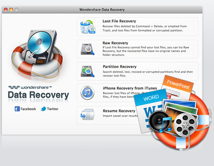 Data Recovery for Mac, Recover Your Lost Data on Mac